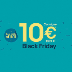 Chollo - 10€ de Descuento para Black Friday