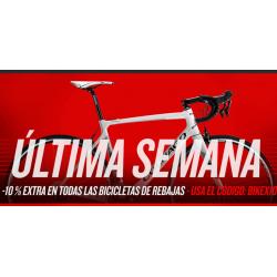 Cupón 10% Descuento Extra para Bicicletas en Liquidación