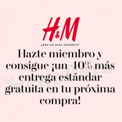 Chollo - -10% y Envío Gratis en H&M
