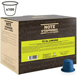 Chollo - 100 Cápsulas Té al limón Note D'Espresso