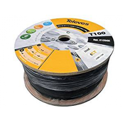 Chollo - 100m de Cable Cable Coaxial Televes T100 16PAtC (para exterior)