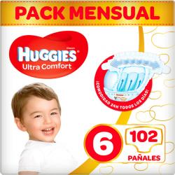 Chollo - 102 Pañales Huggies Ultra Comfort - Talla 6 (15-30 kg)