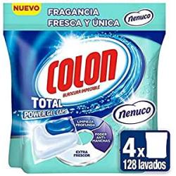 Chollo - 128 Cápsulas Colon Fragancia Fresca y Única Nenuco (4x32 lavados)