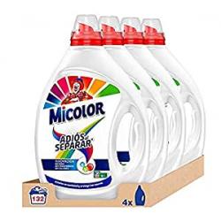 Chollo - Pack 4x Detergente Líquido Micolor Adiós al Separar (132 lavados)