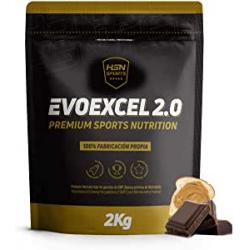 Chollo - 2 Kg Proteína Evoexcel 2.0 Chocolate y Cacahuete