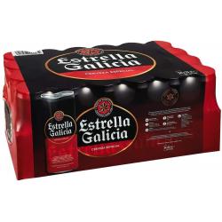 Chollo - Descuento -21% en packs de 24 latas y botellines de Cerveza Estrella Galicia