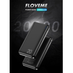 [26/08] Power Bank 20000mAh Floveme Dual USB