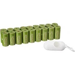 Pack 270 Bolsas para Excrementos de Perro + Dispensador AmazonBasics