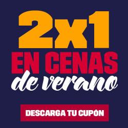 Chollo - Cupón 2x1 en Cenas de Verano
