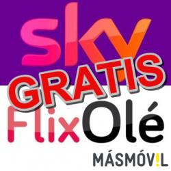 Chollo - 3 meses gratis de FlixOlé y Sky con MÁSMÓVIL por el coronavirus