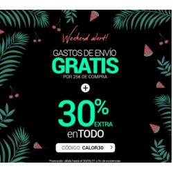 Chollo - 30% de Descuento Extra + Envío Gratis X 25€