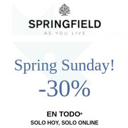 Chollo - -30% en toda la tienda online oficial de Springfield