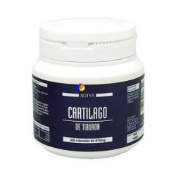 Chollo - 300 Cápsulas de Cartílago de Tiburón para el Dolro Muscular