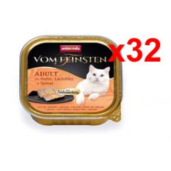 Chollo - 3.2 kilos Comida para gatos animonda Vom Feinsten Adult (32x100g)