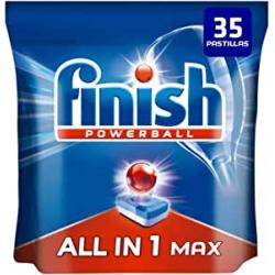 Chollo - 35 Pastillas Lavavajillas Finish Powerball All in 1 Max