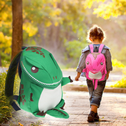 Chollo - 3D Dinosaur Backpack For Boys Girls Children waterproof backpacks