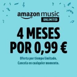 Chollo - 4 meses de Amazon Music Unlimited