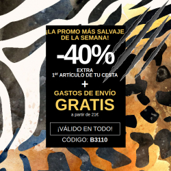 Chollo - -40% en Primer Artículo + Envío Gratis a partir de 21€ en Venca