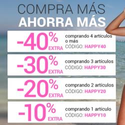 Chollo - 40% extra en productos con precios de Outlet Moda y Hogar