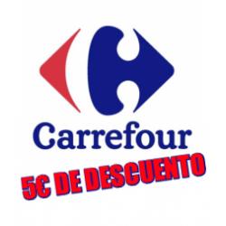 Chollo - 5€ de descuento en compras a partir de 10€ en selección de productos en Carrefour