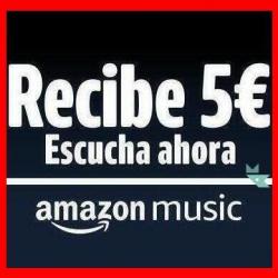 Chollo - 5€ de descuento por escuchar Amazon Music Prime