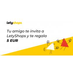 Chollo - 5€ gratis en letyshops si te registras con mi link