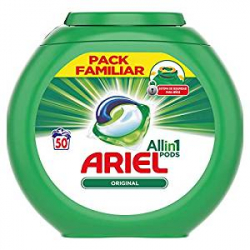 Chollo - 50 Cápsulas Detergente Ariel Pods 3 en 1 Alpine