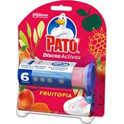 Chollo - 6 Discos Activos Pato WC Fruitopia con Aplicador