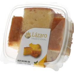 Chollo - 6 Trozos Bizcocho Limón Calado Lázaro Tradicional 350g