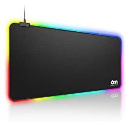 Chollo - 6amLifestyle Alfombrilla gaming RGB XXL 80x30cm | M-6