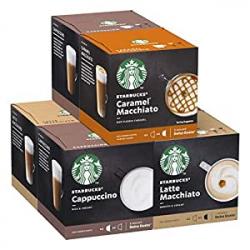 Chollo - Pack 72 Cápsulas Starbucks para Nescafé Dolce Gusto (6x12 cápsulas)