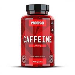 90 Cápsulas de Cafeína Prozis Caffeine 200 mg