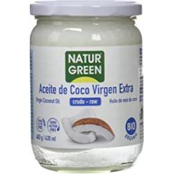 Chollo - Aceite de coco virgen extra bio NaturGreen 400g