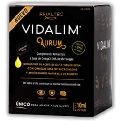 Chollo - Aceite de oliva vírgen con Omega3 DHA Vidalim Aurum 20 monodosis - Frialtec