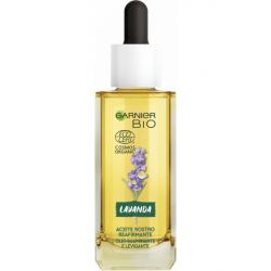 Chollo - Aceite facial reafirmante Garnier BIO con lavanda y argán 30ml