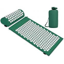 Chollo - Acupresión Kit de masaje Esterilla + Cojín TE | B09C8JYJPX