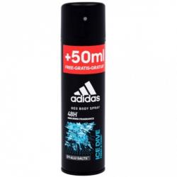 Chollo - Adidas Ice Dive 48h desodorante hombre Body Spray 200ml