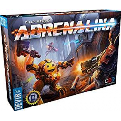 Adrenalina, Juego de Mesa de Devir