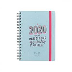 Chollo - Mr. Wonderful Agenda Semana Vista 2020 y mis miles de cosas geniales por hacer