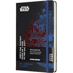 Chollo - Agenda Diaria Moleskine Star Wars Halcón Milenario 12 Meses (Inglés)