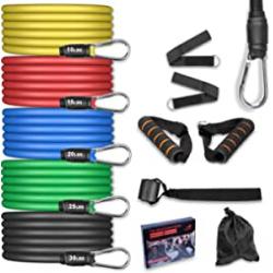Chollo - AGM Bandas elásticas para fitness 11 piezas