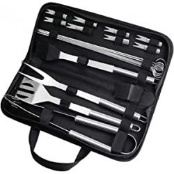 Chollo - Aiglam Set de utensilios para barbacoa 20 piezas