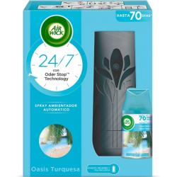 Chollo - Air Wick Freshmatic Essential Oils Oasis Turquesa Kit (aparato + recambio)