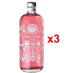 Chollo - Alentador Rosé Cóctel de Tequila con Fresa Pack 3x 70cl