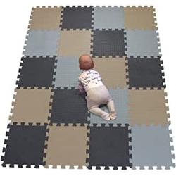 Chollo - Alfombra Puzzle Infantil de Espuma EVA YiminYuer (142x114cm)