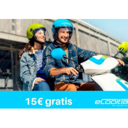Chollo - Código Promocional eCooltra Motosharing  (Gratis 15€)