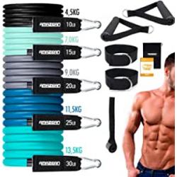 Amazean Bandas elásticas para fitness 11 piezas