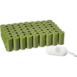 Chollo - Amazonbasics Lavanda Bolsas recogida de excrementos Pack 810 + Dispensador