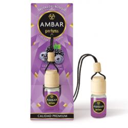 Chollo - Ambar Perfums Frutas del Bosque ambientador colgante coche 45 días 6,5ml