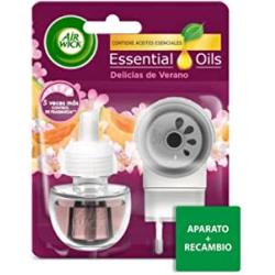 Chollo - Ambientador eléctrico Air Wick Essentials Oils Set Aparato + Recambio Delicias de Verano